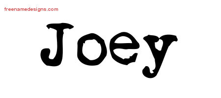 Vintage Writer Name Tattoo Designs Joey Free