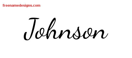 johnson archives free name designs