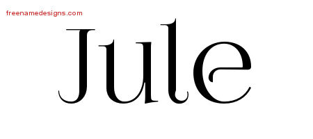 jule Archives - Free Name Designs