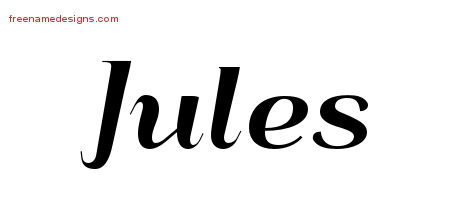 jules Archives - Free Name Designs