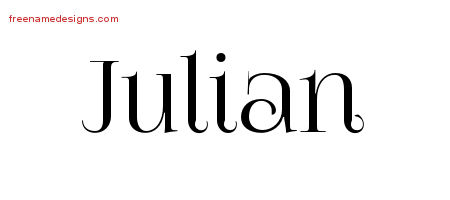 Vintage Name Tattoo Designs Julian Free Download