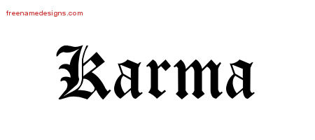 Karma archives free name designs for Karma home designs