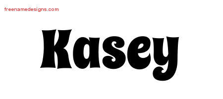 Groovy Name Tattoo Designs Kasey Free