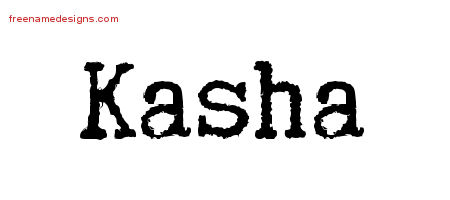 Typewriter Name Tattoo Designs Kasha Free Download