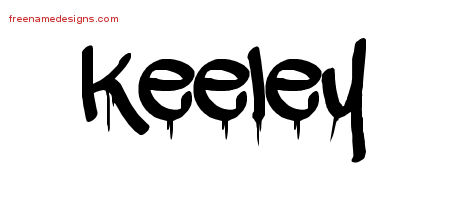 Graffiti Name Tattoo Designs Keeley Free Lettering