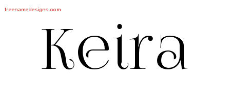 Vintage Name Tattoo Designs Keira Free Download
