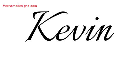 Kevin Name Tattoo Designs