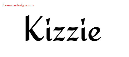 Calligraphic Stylish Name Tattoo Designs Kizzie Download Free