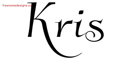 Elegant Name Tattoo Designs Kris Download Free