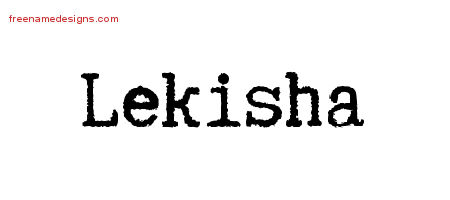 Typewriter Name Tattoo Designs Lekisha Free Download