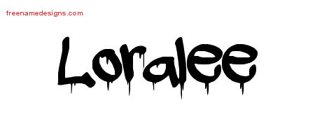 Graffiti Name Tattoo Designs Loralee Free Lettering