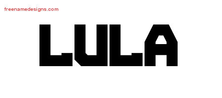 Titling Name Tattoo Designs Lula Free Printout
