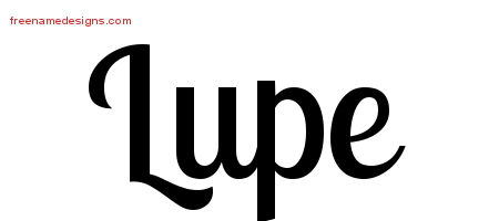 Handwritten Name Tattoo Designs Lupe Free Download