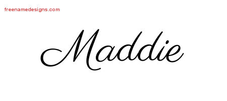 how to write maddie in chinese