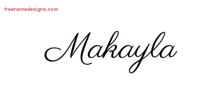 Makayla Archives Free Name Designs