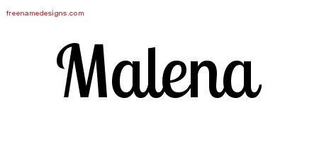 malena Archives - Free Name Designs