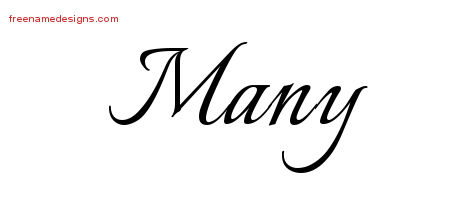 Calligraphic Name Tattoo Designs Many Download Free