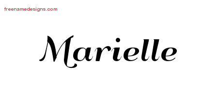 marielle archives free name designs. Black Bedroom Furniture Sets. Home Design Ideas