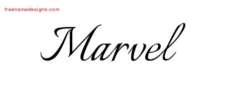 Calligraphic Name Tattoo Designs Marvel Download Free