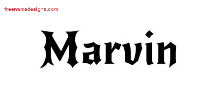 marvin Archives - Free Name Designs