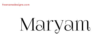 maryam Archives - Free Name Designs