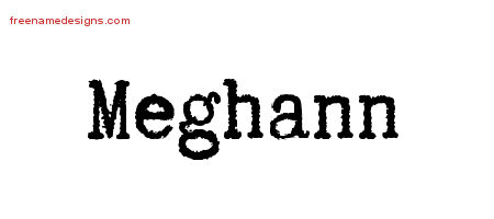 Typewriter Name Tattoo Designs Meghann Free Download