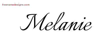 melanie archives free name designs
