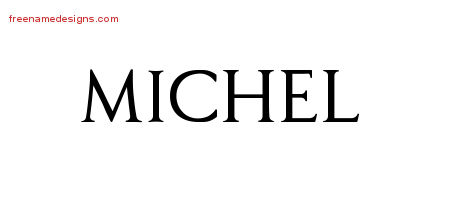 Regal Victorian Name Tattoo Designs Michel Graphic Download