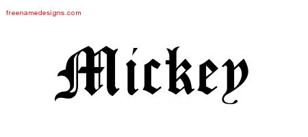 mickey Archives - Free Name Designs