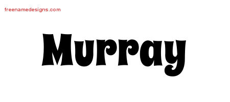 Groovy Name Tattoo Designs Murray Free