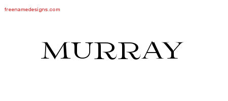 Flourishes Name Tattoo Designs Murray Graphic Download