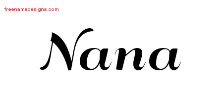 nana Archives - Page 2 of 2 - Free Name Designs