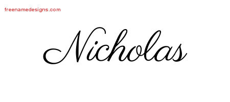 Nicholas Archives Page 2 Of 2 Free Name Designs