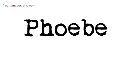 phoebe Archives - Free Name Designs