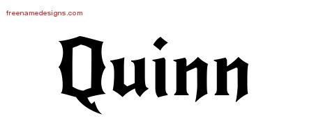 quinn Archives - Free Name Designs