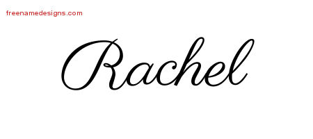 classic name tattoo designs rachel graphic download free name designs
