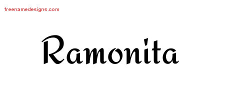 Calligraphic Stylish Name Tattoo Designs Ramonita Download Free