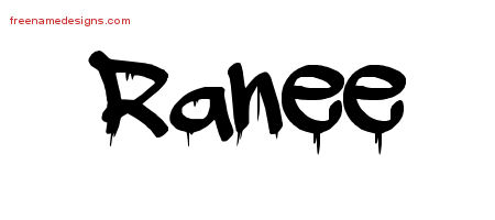 Graffiti Name Tattoo Designs Ranee Free Lettering