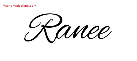 Cursive Name Tattoo Designs Ranee Download Free