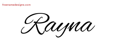 Cursive Name Tattoo Designs Rayna Download Free