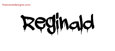 Graffiti Name Tattoo Designs Reginald Free