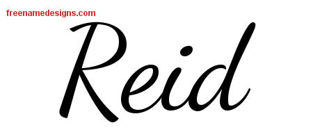 reid name. lively script name tattoo designs reid free download t