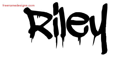 Graffiti Name Tattoo Designs Riley Free Lettering