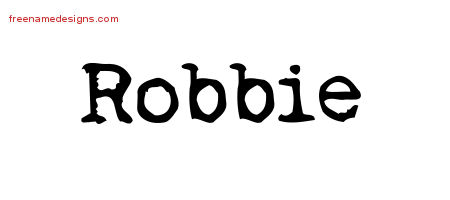 Vintage Writer Name Tattoo Designs Robbie Free
