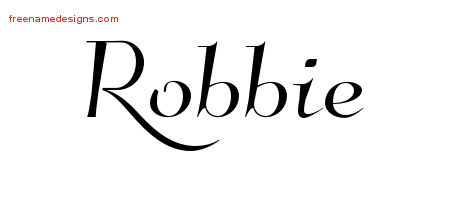 Elegant Name Tattoo Designs Robbie Download Free