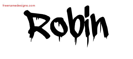 Graffiti Name Tattoo Designs Robin Free Lettering