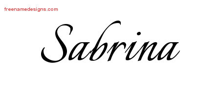 Sabrina Archives Free Name Designs