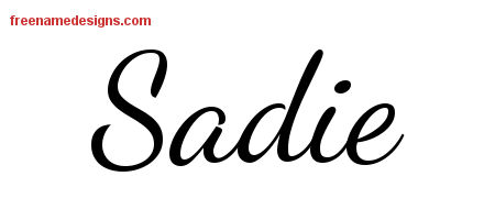 Sadie Dog Name Meaning