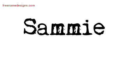 Vintage Writer Name Tattoo Designs Sammie Free
