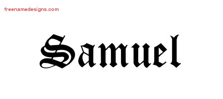 samuel Archives - Free Name Designs